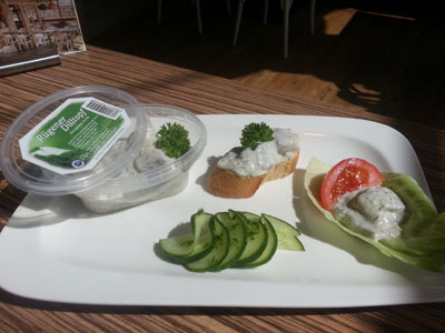 Hauseigene Salate, Marinaden, Suppen