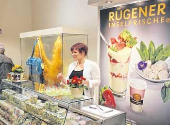 Neben der Molkerei Naturprodukt GmbH Rügen, Rügener Inselfrische waren weitere 24 Regionalproduzenten auf der Messe stark nachgefragt. Denn Rügen schmeckt immer.